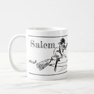 Salem Massachusetts, bruxas na caneca da tinta