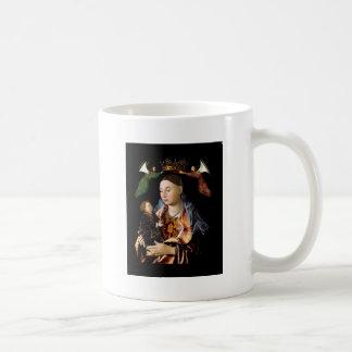 Salgando Madonna e a criança do cristo Caneca De Café