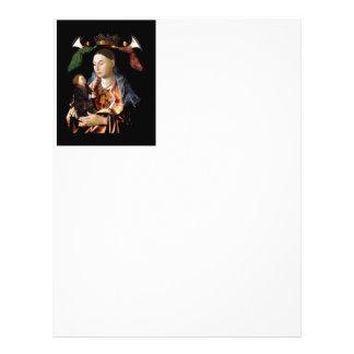 Salgando Madonna e a criança do cristo Flyer
