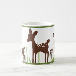 Salgueiro orgânico/caneca dos cervos caneca de café