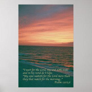 Salmo 130 pôster