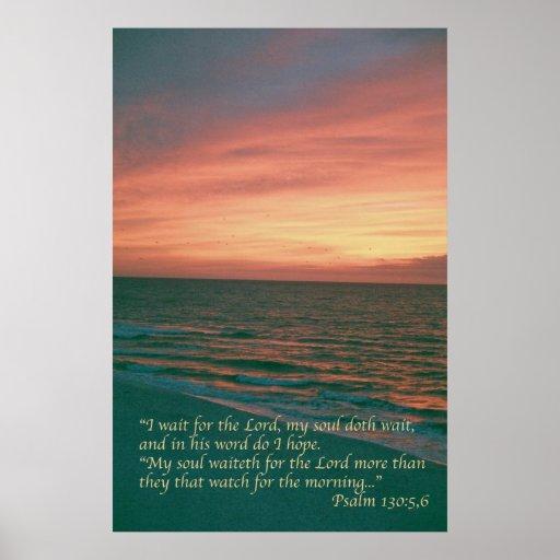 Salmo 130 impressão