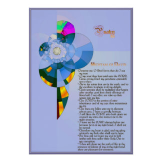 Salmo 16. impressão