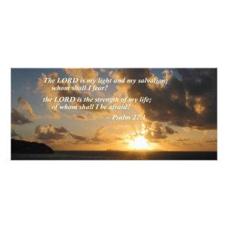 Salmo 27 1 o senhor Ser Meu Luz 10.16 X 22.86cm Panfleto