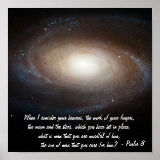 Salmo 8 pôster