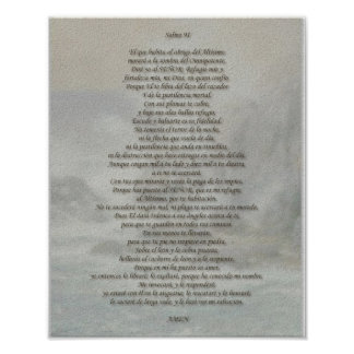 Salmo 91 pôster