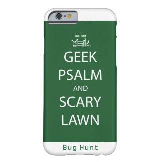 Salmo do geek e capa de telefone assustador do