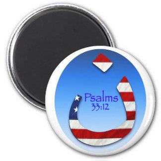Salmo do Nazarene Ímã Redondo 5.08cm