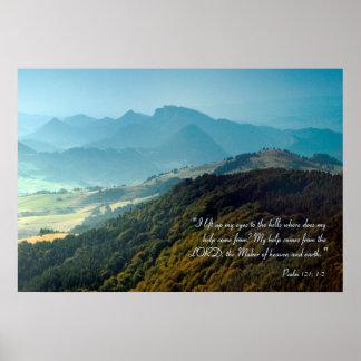 Salmo inspirado 121 de | pôster