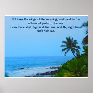 Salmos 139 pôster