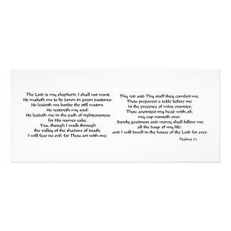 Salmos 23 10.16 x 22.86cm panfleto
