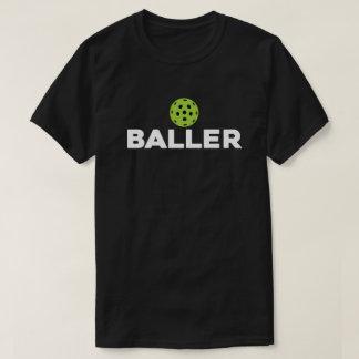 (Salmoura) camisa escura de Baller Pickleball