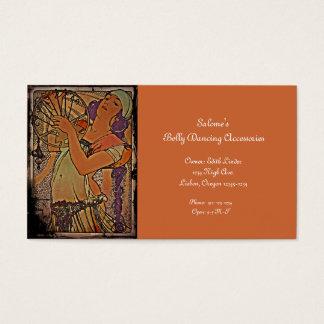 Salome 1897 cartão de visitas
