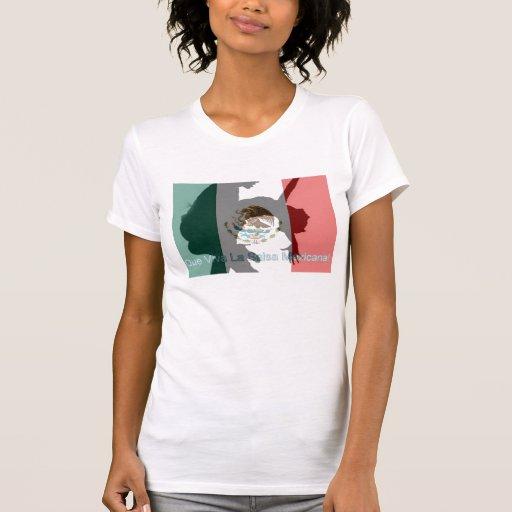 Salsa Mexicana do La de Que Viva Tshirts