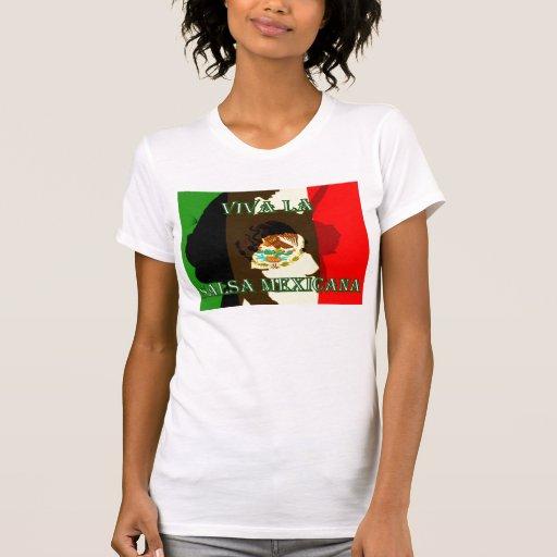Salsa Mexicana do La de Viva Tshirts