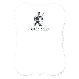 Salsa SUPERIOR da dança Convites Personalizado