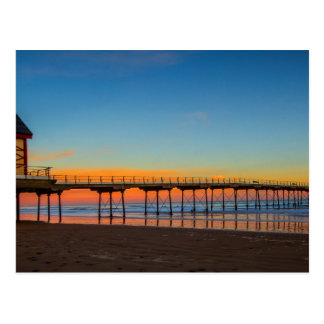 Saltburn pelo cartão do mar