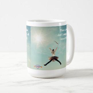 """""""Salte"""" a caneca de café inspirada"""