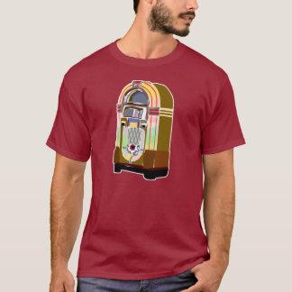 Salte Jive o t-shirt do jukebox Camiseta