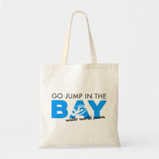 Salte no bolsa da baía