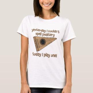 saltério engraçado camiseta
