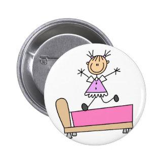 Salto no botão da cama bóton redondo 5.08cm