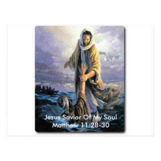 Salvador de Jesus de minha alma Cartao Postal