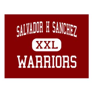 Salvador H Sánchez - guerreiros - meio - El Paso Cartão Postal