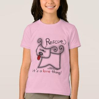 Salvamento… é uma coisa do amor! camiseta