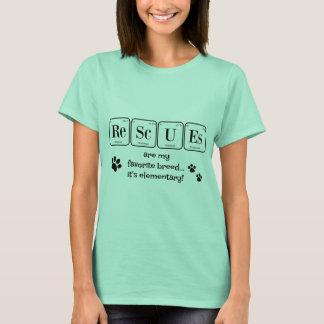 SALVAMENTOS, minha raça favorita (elementar) Camiseta