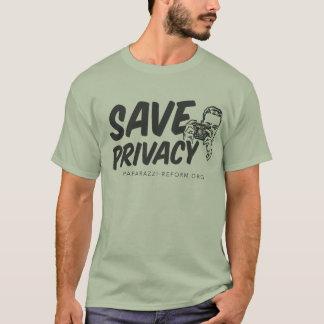 Salvar a camisa da privacidade