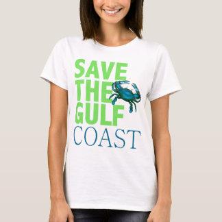 Salvar a camisa das mulheres da costa do golfo