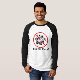 Salvar a camisa do planeta t