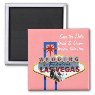 Salvar a data Las Vegas que Wedding o ímã Imã