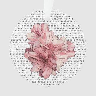 Salvar a lembrança da flor do rosa da data persona