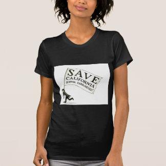 Salvar a mercadoria das bibliotecas escolares de tshirt