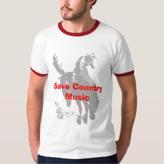 Salvar a música country tshirt