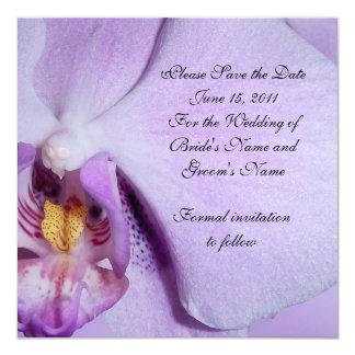 Salvar a orquídea do anúncio do casamento da data