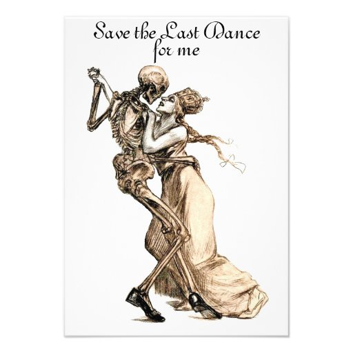 Salvar a última dança para mim convite