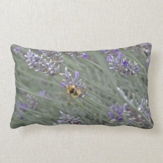Salvar as abelhas: Travesseiro lombar da lavanda Almofada Lombar
