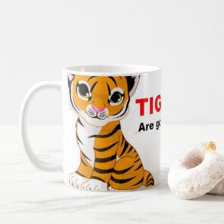 Salvar as canecas do tigre