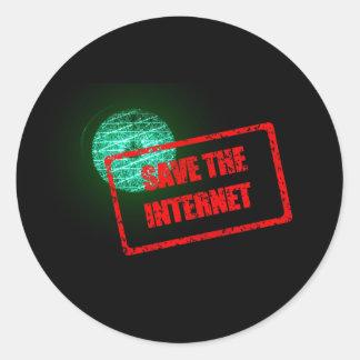 Salvar as etiquetas do Internet