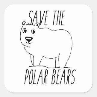 Salvar as etiquetas dos ursos polares