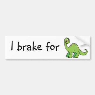 salvar dinossauros adesivo para carro