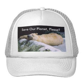 Salvar nosso boné do urso polar do planeta