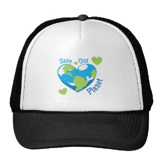 Salvar nosso planeta boné
