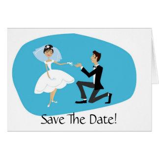 Salvar o acessório do casamento do cartão de data