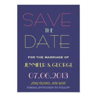 Salvar o anúncio do convite da data