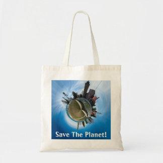 Salvar o bolsa de Panoplanet da cidade de Mackinaw