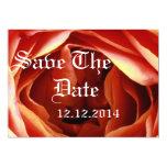 Salvar o botão cor-de-rosa da data convite personalizados